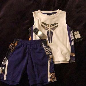 NWT Nike 2T 2-Piece Purple Set